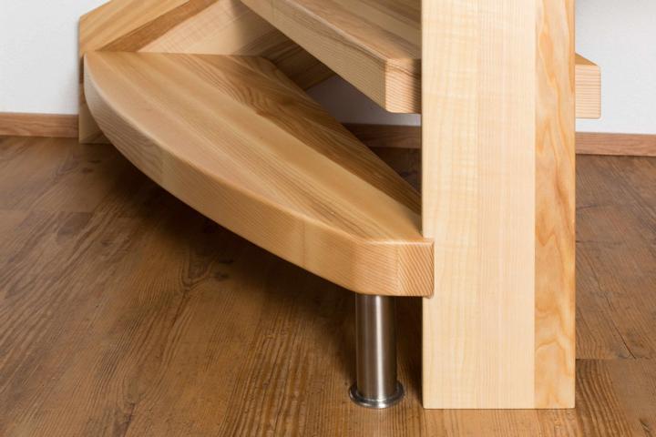 Holzstiege für Innen