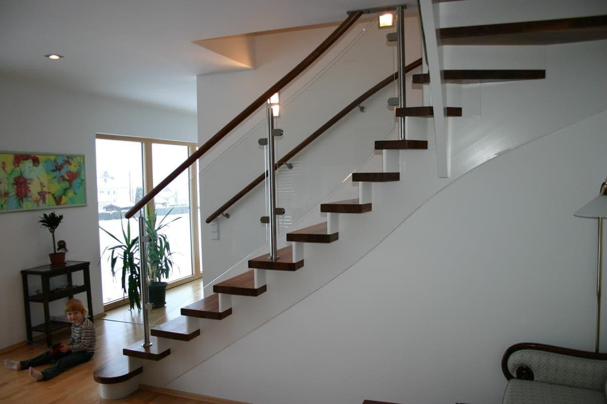 Treppe mit Tragholm
