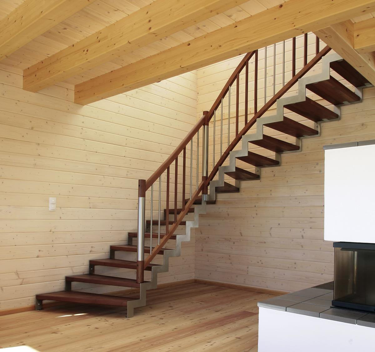 Z-Wangen Treppe