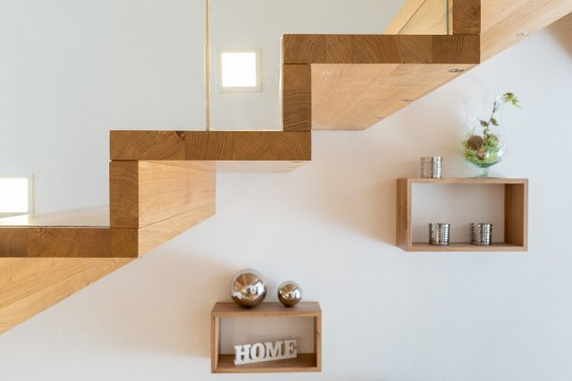 Wohndesign Treppe